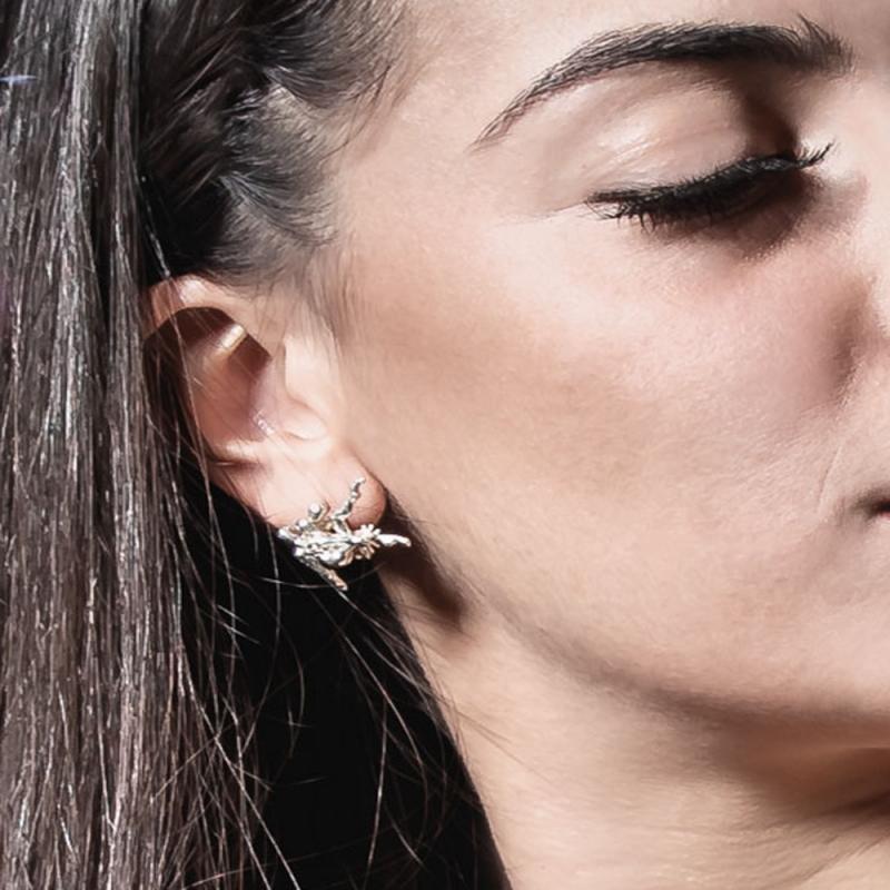 Desideri Clandestini Earrings (Clandestine Desires) - Fabiana Fusco -  Eclectic Artisans