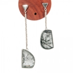Angles of Introspection Earrings - Cicely Cliff -  Eclectic Artisans