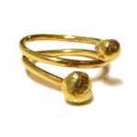 Atlas Wrap Around 18ct Gold Ring  - Catherine Marche -  Eclectic Artisans