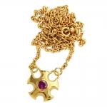 Metropolis Gold Necklace - Annika Burman -  Eclectic Artisans