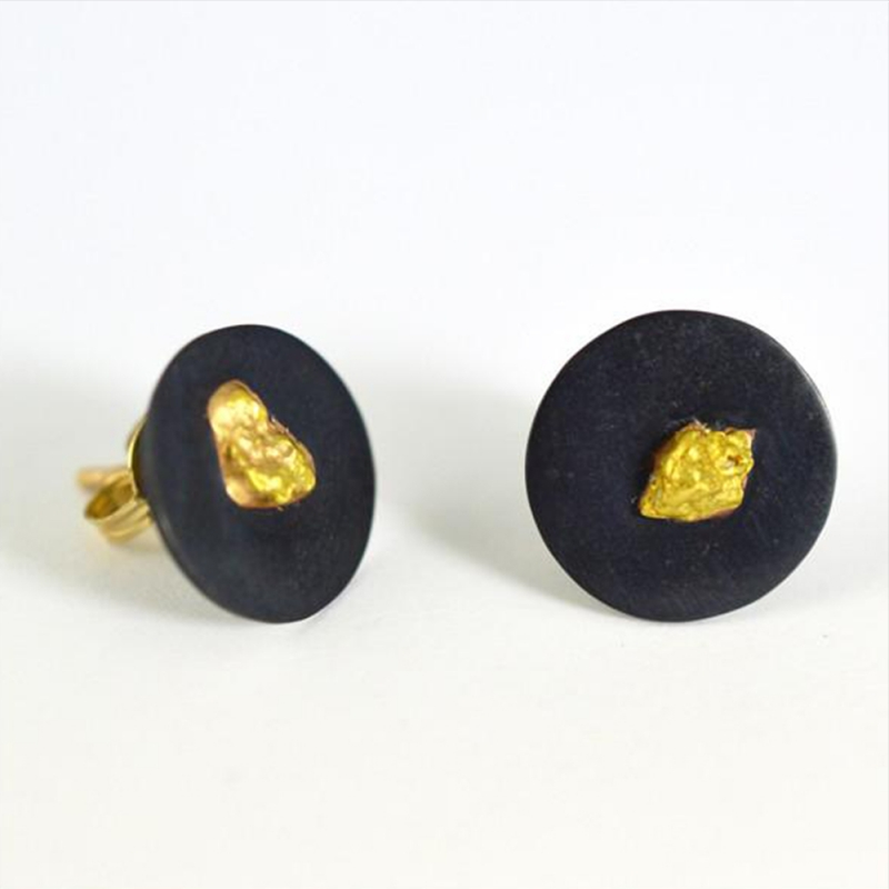 Alluvial Studs - Carolyn Barker -  Eclectic Artisans