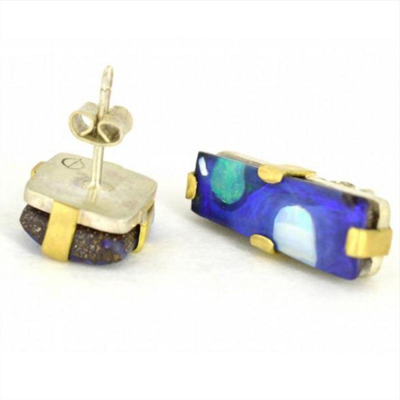 Ocean's Blue Twin Earrings - Carolyn Barker -  Eclectic Artisans