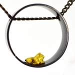 Alluvial Circle Pendant - Carolyn Barker -  Eclectic Artisans