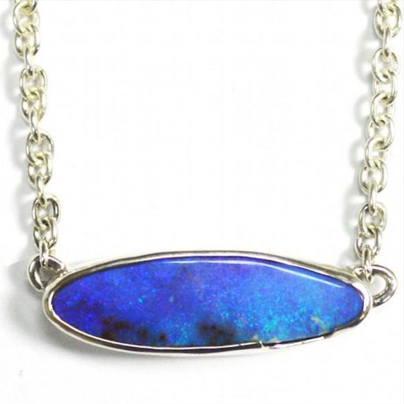 Ocean's Blue Necklace - Carolyn Barker -  Eclectic Artisans