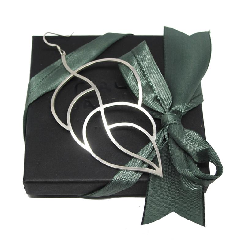 Leafy Solo Earring - Malin Jansson -  Eclectic Artisans