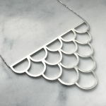 Scale Necklace - Malin Jansson -  Eclectic Artisans