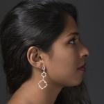 Asymmetrical Water Frequency Earrings - Aurelia Yeomans -  Eclectic Artisans
