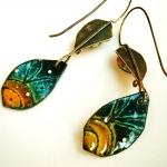 Night Earrings - Jessica deGruyter Found in ABQ -  Eclectic Artisans