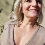 Peach Harvest Contraption Earrings - Jessica deGruyter Found in ABQ -  Eclectic Artisans