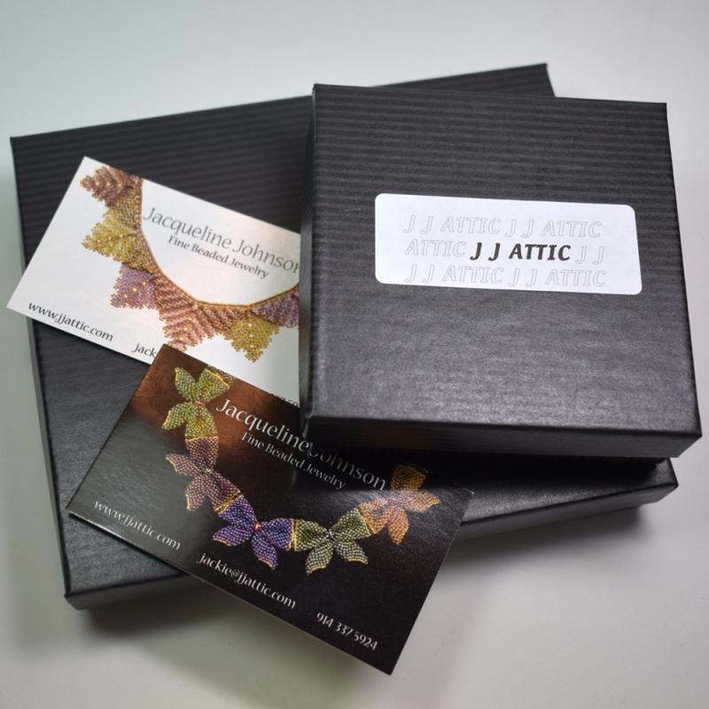 Buttoned necklace - Jacqueline Johnson -  Eclectic Artisans