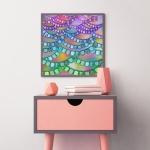 Art Print: Fragrant Lavender - Laurel  Nathanson -  Eclectic Artisans