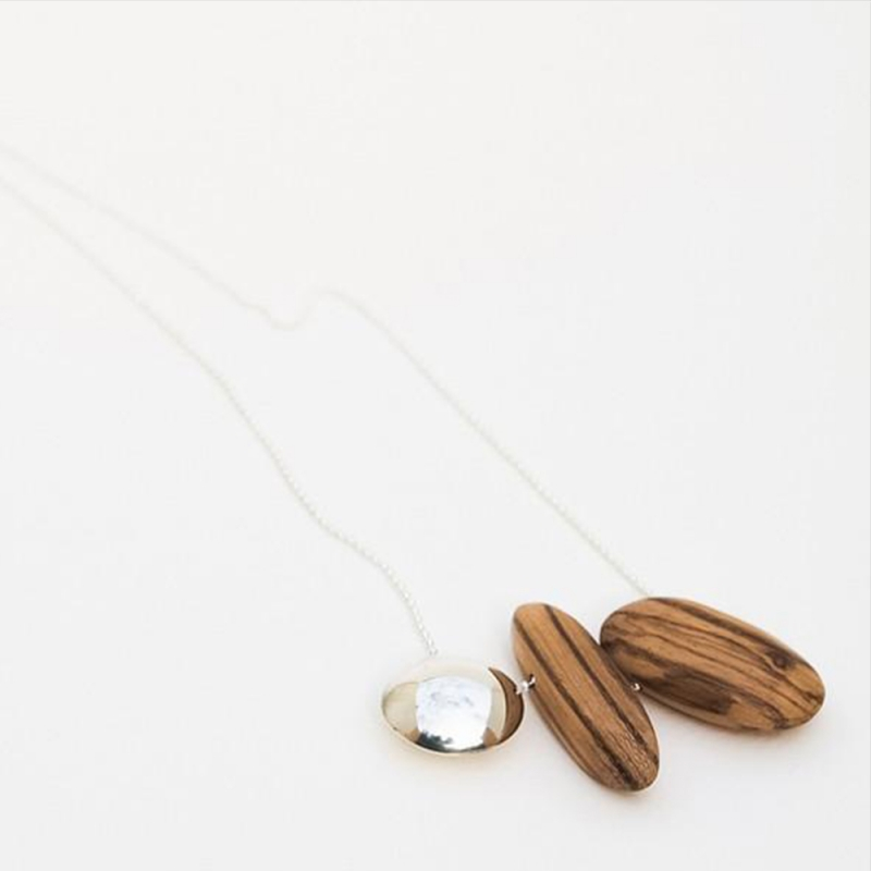 Pebbles on a Chain - Sarah Bourke -  Eclectic Artisans