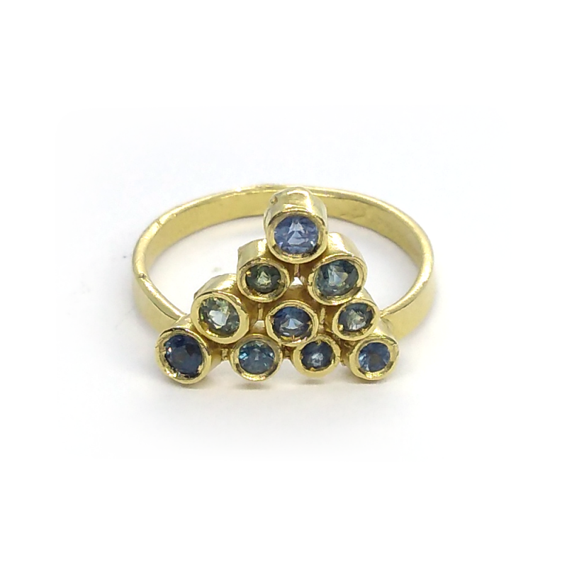 18k Yellow Gold Ring - Joanna Sinska -  Eclectic Artisans