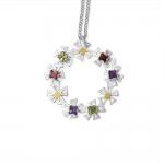 Kopernik Daisy Wreath Pendant 4 - Felicity Peters -  Eclectic Artisans
