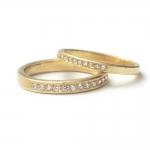 18ct Gold Eternity Ring - Shimara Carlow -  Eclectic Artisans