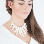 Coral Necklace - Kristine Oss -  Eclectic Artisans