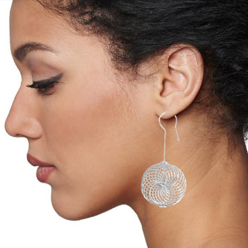 Spin Out Earrings - Angela Giuliani -  Eclectic Artisans