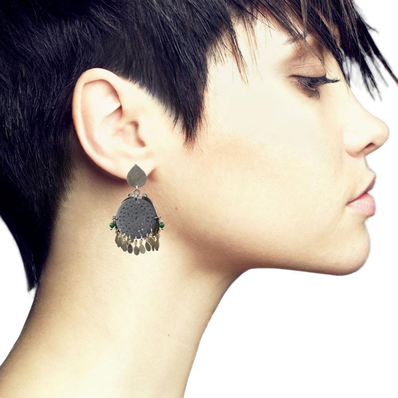 Awakening Earrings - Gemma Grace -  Eclectic Artisans
