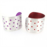 Spotty Cuff  - Katherine Grocott -  Eclectic Artisans