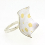 Circles Squared Ring - Katherine Grocott -  Eclectic Artisans